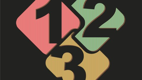 numbers design